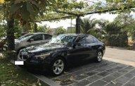 Bán xe BMW 525i cuối 2006 (tháng 11/2006), model 2007, số tự động, máy xăng, màu đen, nội thất màu kem giá 380 triệu tại Tp.HCM