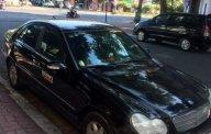 Cần bán lại xe Mercedes C180 sản xuất 2003, màu đen, 220tr giá 220 triệu tại Tp.HCM
