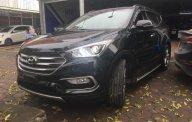 Cần bán Hyundai Santa Fe sản xuất năm 2017, màu đen, nhập khẩu nguyên chiếc giá 1 tỷ 40 tr tại Hà Nội