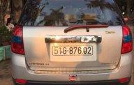 Bán xe Chevrolet Captiva LT đời 2008, màu bạc, xe còn rất đẹp và zin giá 275 triệu tại Tp.HCM