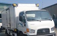 Cần bán xe Hyundai Mighty 110S-6T9 thùng kín đời 2018, màu trắng giá 679 triệu tại Tp.HCM