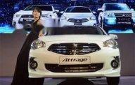 Bán Mitsubishi Attrage sản xuất 2019, màu trắng, nhập khẩu  giá 375 triệu tại Đà Nẵng