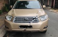 Bán xe Toyota Highlander 3.5 đời 2008, màu vàng, xe nhập đã đi 80000 km giá 746 triệu tại Tp.HCM