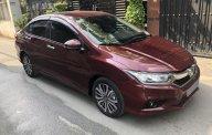 Cần bán xe Honda City 2018 số tự động, màu đỏ, BSTP chính chủ giá 552 triệu tại Tp.HCM