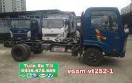 Xe tải Veam VT252-1 tải trọng 2T4, máy Hyundai, thùng 4m1, giá rẻ giá 367 triệu tại Hà Nội