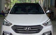 Cần bán xe Hyundai Santa Fe sản xuất năm 2018, màu trắng còn mới giá 1 tỷ 145 tr tại Hà Nội