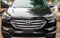 Bán xe Hyundai Santa Fe 2.4 AT sản xuất 2018, màu đen giá 1 tỷ 50 tr tại Hà Nội