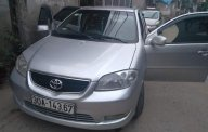 Cần bán Toyota Vios MT sản xuất năm 2005, màu bạc giá 186 triệu tại Vĩnh Phúc
