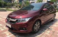 Bán ô tô Honda City TOP sản xuất năm 2018, màu đỏ   giá 595 triệu tại Hà Nội