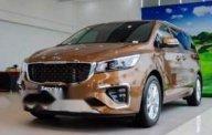 Bán xe Kia Sedona sản xuất năm 2019, màu nâu giá 1 tỷ 209 tr tại Tp.HCM