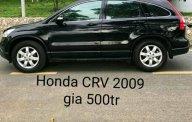 Cần bán xe Honda CR V năm 2009, màu đen giá 500 triệu tại Tp.HCM