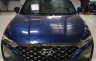 Bán Hyundai Santa Fe 2.2L HTRAC sản xuất 2019, màu xanh lam giá 1 tỷ 245 tr tại Hà Nội