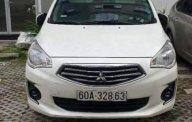 Cần bán gấp Mitsubishi Attrage CVT năm sản xuất 2016, màu trắng, xe nhập số tự động, giá chỉ 355 triệu giá 355 triệu tại Tp.HCM