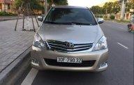 Bán ô tô Toyota Innova 2.0G đời 2011, màu vàng chính chủ, 395tr giá 395 triệu tại Hà Nội