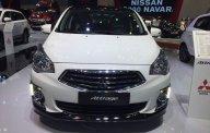 Bán xe Mitsubishi Attrage năm sản xuất 2019, màu trắng, nhập khẩu giá 376 triệu tại Tp.HCM