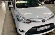 Cần bán gấp Toyota Vios sản xuất 2017, màu trắng, giá chỉ 500 triệu giá 500 triệu tại Tp.HCM