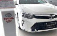 Bán xe Toyota Camry 2.5Q đời 2019, màu trắng giá 1 tỷ 310 tr tại Bình Dương