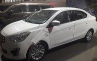 Bán xe Mitsubishi Attrage 1.2 AT đời 2018, màu trắng giá cạnh tranh giá 414 triệu tại Hà Nội