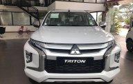 Bán Mitsubishi Triton 2019, màu trắng, xe nhập, giá 730tr, giao ngay tháng 7 với nhiều phần quà hấp dẫn giá 818 triệu tại Hà Nội