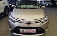 Bán Toyota Vios 1.5E đời 2017, màu vàng cát giá 495 triệu tại Tp.HCM