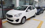 Cần bán xe Mitsubishi Attrage 1.2 MT Eco sản xuất 2019, màu trắng, nhập khẩu, khuyến mại lớn giá 375 triệu tại Hà Nội
