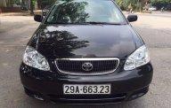 Bán Toyota Corolla altis đời 2003, màu đen giá 220 triệu tại Hà Nội