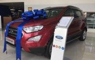 Cần bán Ford EcoSport Titanium 1.5L AT sản xuất năm 2019, màu đỏ giá 648 triệu tại Tp.HCM