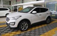 Bán xe Hyundai Santa Fe 2.4AT 4WD năm sản xuất 2015, màu trắng, giá chỉ 846 triệu giá 846 triệu tại Tp.HCM