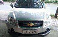 Bán Chevrolet Captiva LT năm sản xuất 2007, màu bạc, số sàn giá 245 triệu tại Tp.HCM