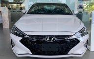 Bán Hyundai Elantra Sport 1.6 turbo năm 2019, màu trắng giá 744 triệu tại Tp.HCM