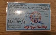 Bán Kia Morning năm 2012, màu đỏ chính chủ giá 185 triệu tại Hà Nội