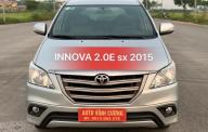 Bán Toyota Innova 2.0E năm 2015, màu bạc giá 560 triệu tại Hà Nội