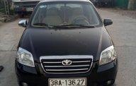 Gia đình bán xe Daewoo Gentra SX 1.5 MT 2010, màu đen, giá chỉ 165 triệu giá 165 triệu tại Hà Tĩnh