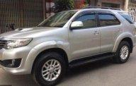 Gia đình bán xe Toyota Fortuner sản xuất 2014, màu bạc, giá chỉ 755 triệu giá 755 triệu tại Tp.HCM