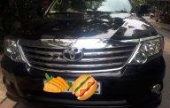 Cần bán lại xe Toyota Fortuner sản xuất năm 2012, màu đen số tự động giá 575 triệu tại Tp.HCM