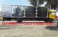 Xe tải DongFeng 7T5 thùng kín. Xe DongFeng B180 thùng kín tải 7T5 giá tốt nhất giá 990 triệu tại Bình Thuận