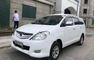 Cần bán Toyota Innova 2.0MT đời 2010, màu trắng, số sàn  giá 255 triệu tại Hà Nội