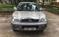 Bán Hyundai Santa Fe năm sản xuất 2003, màu bạc, nhập khẩu   giá 250 triệu tại Hà Nội