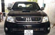 Bán Toyota Hilux 3.0MT năm sản xuất 2009, màu đen, nhập khẩu nguyên chiếc   giá 350 triệu tại Gia Lai