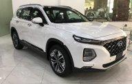 Bán Hyundai Santa Fe năm sản xuất 2019, màu trắng giá 1 tỷ 195 tr tại Hà Nội