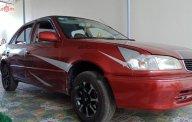 Cần bán lại xe Toyota Corolla năm 2001, màu đỏ, nhập khẩu nguyên chiếc, giá chỉ 130 triệu giá 130 triệu tại Tp.HCM
