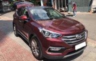 Bán Hyundai Santa Fe 2.2L năm sản xuất 2018, màu đỏ chính chủ giá 1 tỷ 150 tr tại Hà Nội