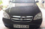Cần bán gấp Daewoo Lacetti 2011, màu đen, giá chỉ 210 triệu giá 210 triệu tại Nghệ An