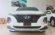 Bán xe Hyundai Santa Fe Premium 2.2L HTRAC sản xuất năm 2019, màu trắng giá 1 tỷ 245 tr tại Hà Nội