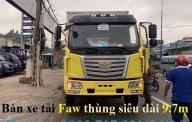 Bán xe tải Faw thùng kín dài 9m7 - Xe tải Faw thùng kín tải 7t2 thùng siêu dài 9m7 giá 970 triệu tại Đồng Nai