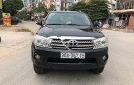 Bán Toyota Fortuner 2.7V 4x4 AT 2010, màu đen, chính chủ giá 445 triệu tại Hà Nội