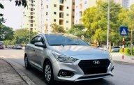 Bán Hyundai Accent 1.4 MT Base đời 2018, màu bạc xe nguyên bản giá 435 triệu tại Hà Nội