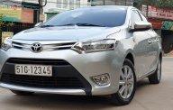 Bán Toyota Vios 1.5E sản xuất 2017, màu bạc chính chủ giá 439 triệu tại Tp.HCM