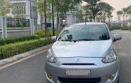 Cần bán lại xe Mitsubishi Mirage năm 2014, màu bạc, nhập khẩu chính hãng giá 235 triệu tại Hà Nội