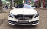 Bán Mercedes-Benz S450L 2019 trắng, nội thất nâu- tên công ty xuất hóa đơn cao (4.2 tỷ) giá 4 tỷ 250 tr tại Hà Nội